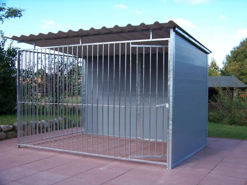 2 Seiten Kunststoff Hundezwinger 2.00 x 3.00 Meter