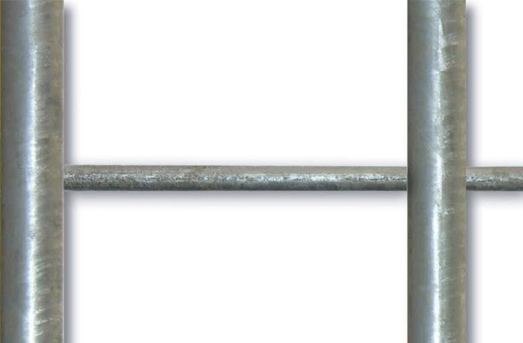 Stahlstange als zusätzliche Querverstrebung