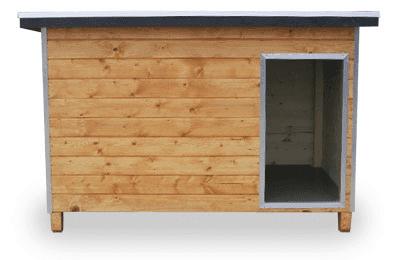 Massivholz-Stahlrahmenzwinger