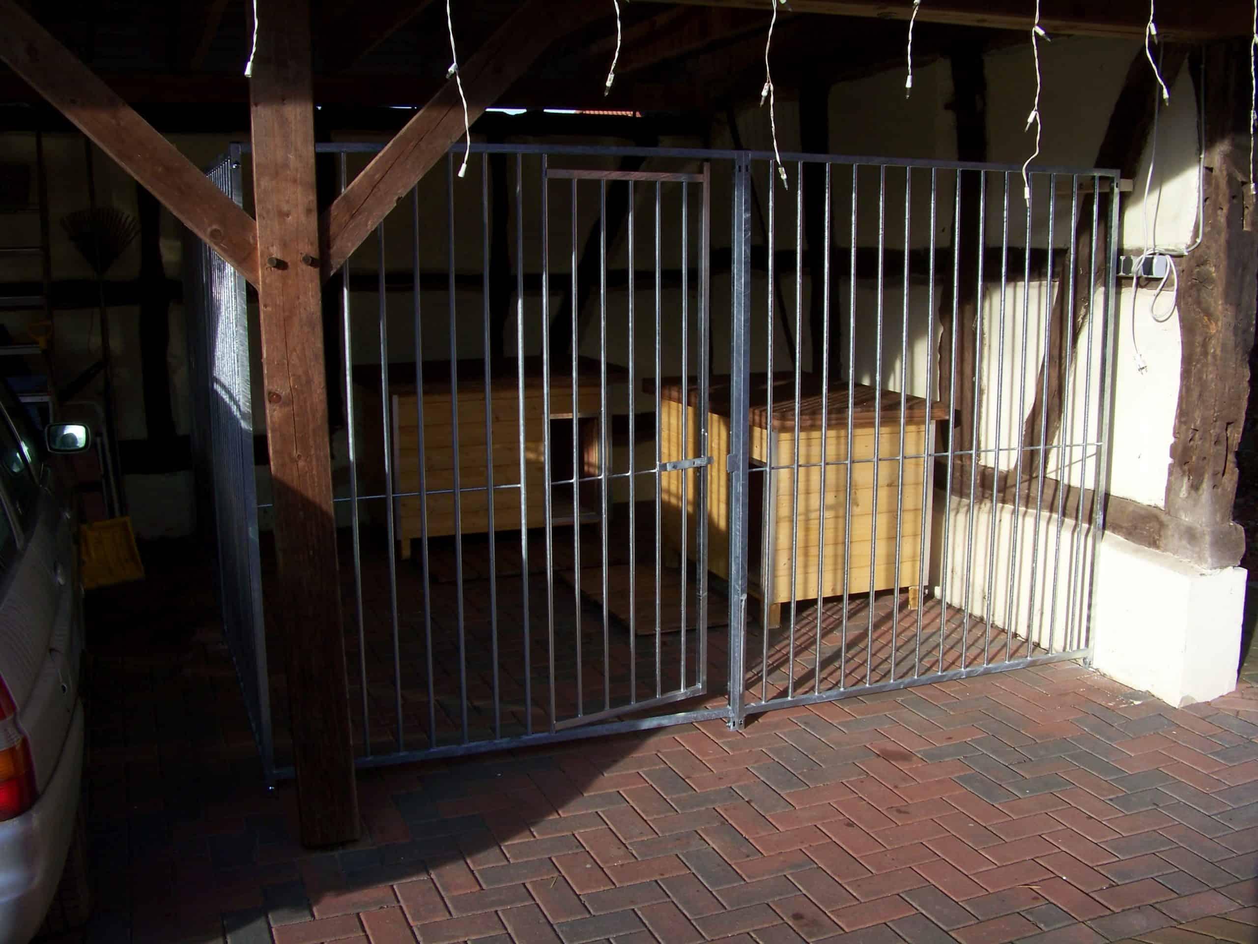 Rohrstabhundezwinger 4.00 x 4.00 Meter