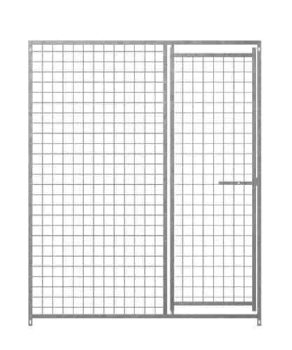 Hundezwinger Gittergewebeelement 50 x 50 x 4 mm mit Tür